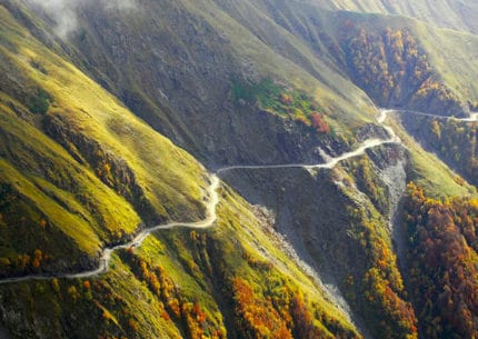 The Caucasus Road