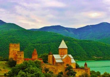 Ananuri fortress, Georgia Photo